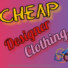 cheap designer clothing